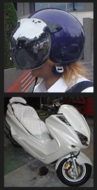 バイク塗装の施工例